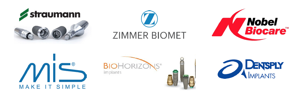 MOST POPULAR DENTAL IMPLANT SYSTEMS